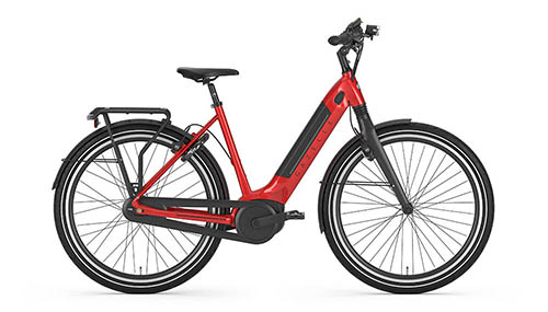 e-bike gazelle rood