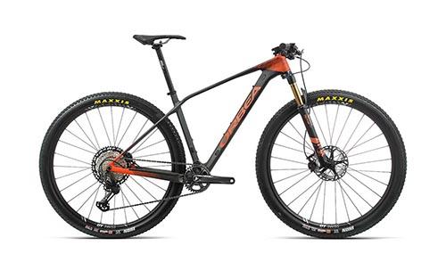 Oranje orbe mountainbike